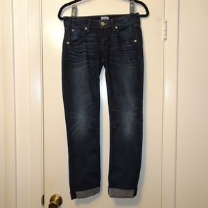Hudson Jeans Bacara Crop Staight  Cuff | Size 26